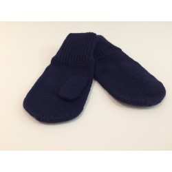 Mittens - navy blue