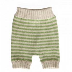New born shorts - verde