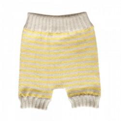 New born shorts - yellow