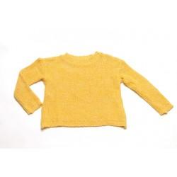 Jersey de punto Mapache - Amarillo y crudo