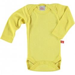 Body manga larga - amarillo