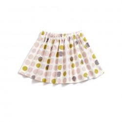 Falda básica Polka Dots