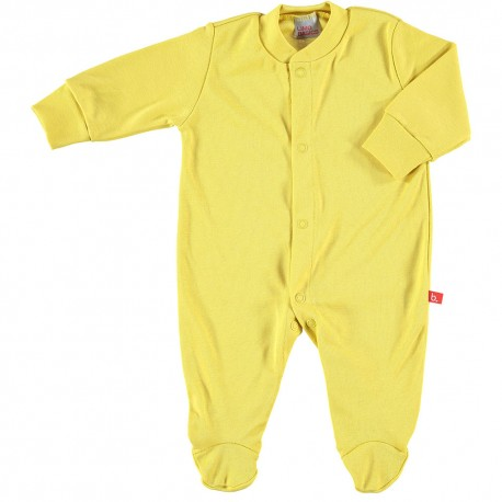 a16d9579fb7 Front-fastening pyjama - Yellow - Xali e Xoco