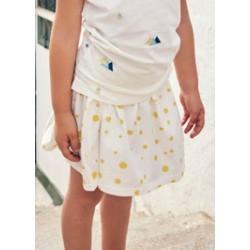 Basic Skirt - Sand