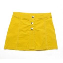 Falda Cosmic amarilla