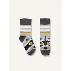 Racoon talkie walkie - grey melange