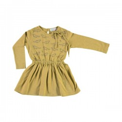 Vestido de Felpa mini PingŸinos Flock - Gris