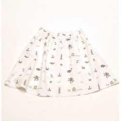 Skirt Mejillon Allover Grey