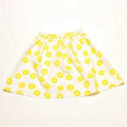 Skirt Mejillon Allover Yellow